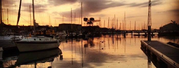 East Cowes Marina is one of Isle of Wight Places.