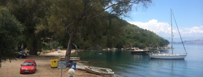 Kouloura Beach is one of Greek summer.
