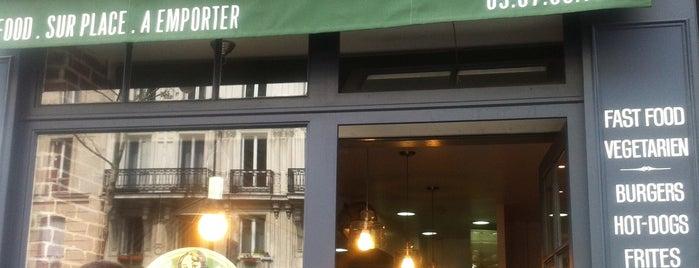 East Side Burgers is one of Paris food.