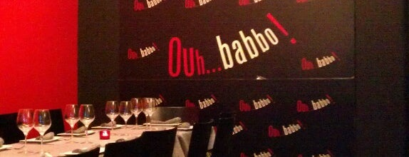 Ouh... Babbo! is one of Sitios donde he comido bien.
