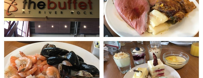 The Buffet at River Rock is one of Vancouver Restaurants.