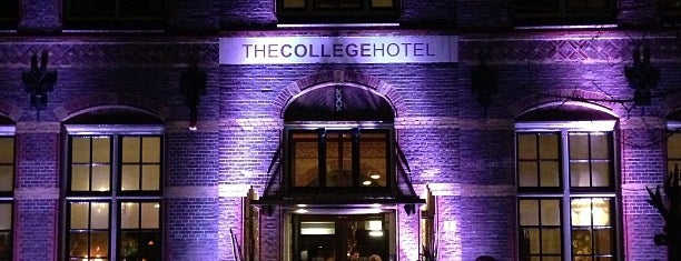 The College Hotel is one of terrace/garden 020.
