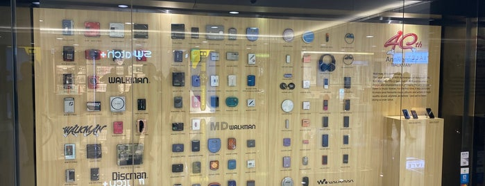Sony Store is one of Hong Kong!.