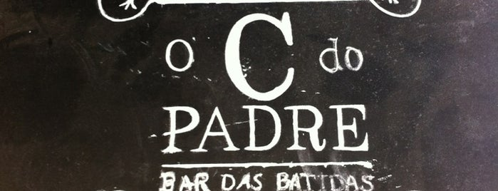 Bar das Batidas - O C... do Padre is one of Locais salvos de Camila.
