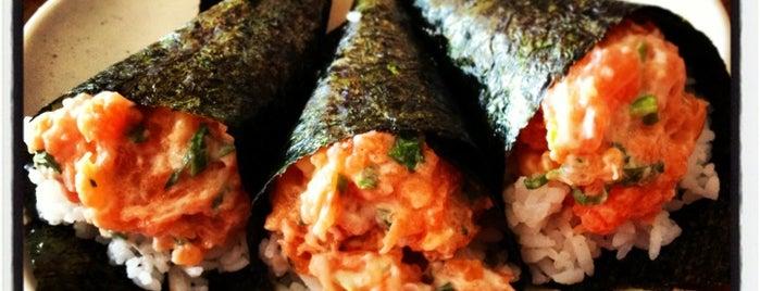 Nagai Sushi is one of Lugares favoritos de Filene.
