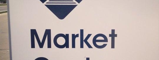 Market Center Station (DART Rail) is one of Dallas, TX.