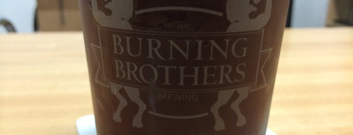 Burning Brothers Brewing is one of New Minneapolis Breweries.