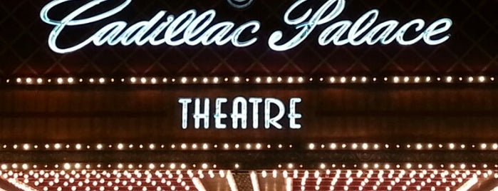 Cadillac Palace Theatre is one of The Nederlander Network.