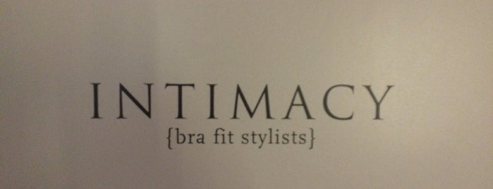 INTIMACY {bra fit stylists} is one of Lugares favoritos de Nicole.