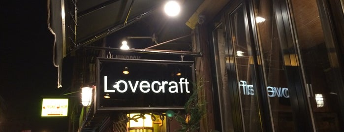 Lovecraft is one of Manhattan Bars-To-Do List.