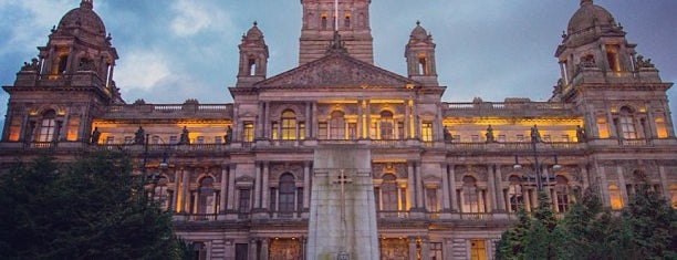 George Square is one of Lugares favoritos de Carl.