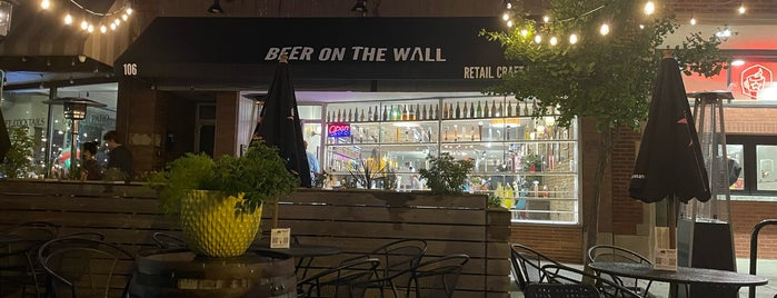 Beer on the Wall is one of Chi town.