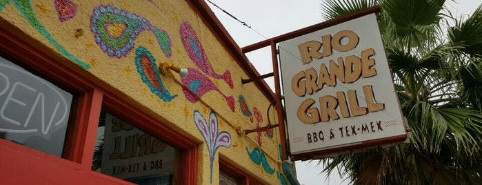 Rio Grande Grill is one of Texas Monthly's Top 50 BBQ Joints in Texas.