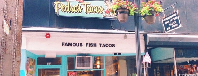 Pedro's Tacos is one of Boston.