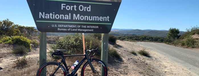 Fort Ord National Monument is one of HWY1: Santa Cruz to Monterey/Carmel.