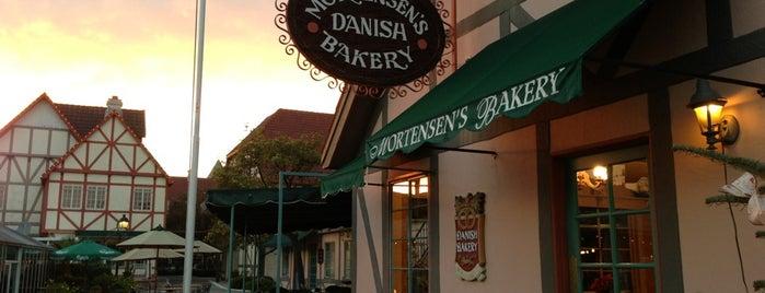 Mortensen's Danish Bakery is one of Solvang.