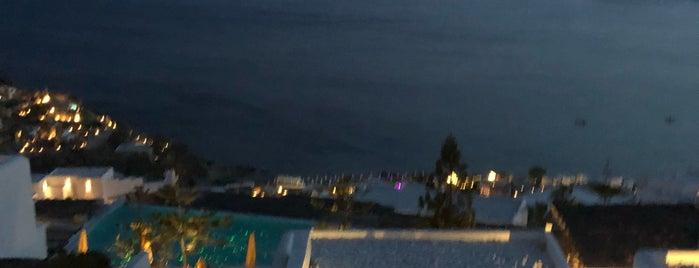 Myconian Utopia Resort is one of สถานที่ที่ Edgar ถูกใจ.