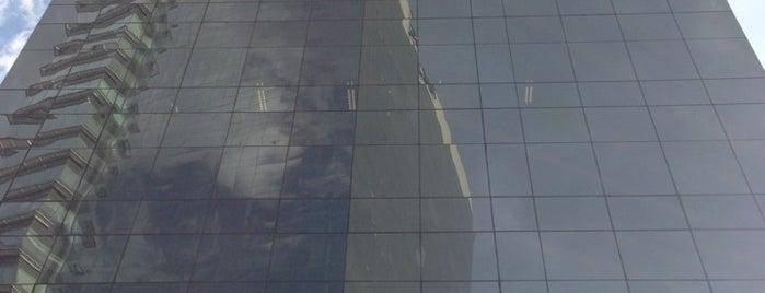 Corporativo Punta Santa Fé is one of Rascacielos en la Ciudad de México..