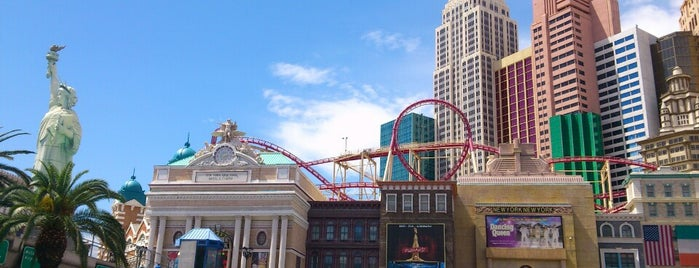The Roller Coaster is one of Vegas Baby!.