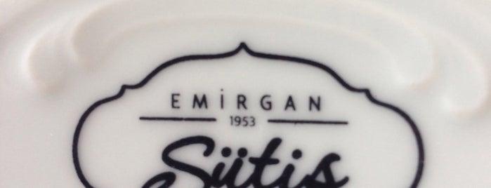 Emirgan Sütiş is one of Istanbul.