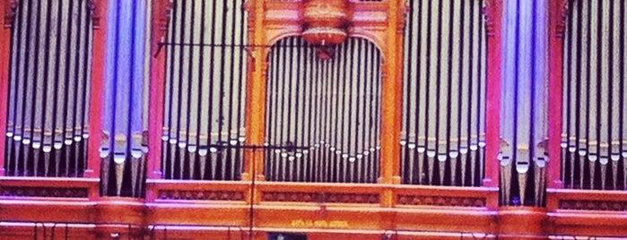 Большой зал Консерватории им. П. И. Чайковского is one of Мусикиа.