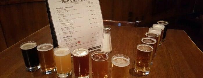 Rock Bottom Restaurant & Brewery is one of Chicago: Favorite Grub.