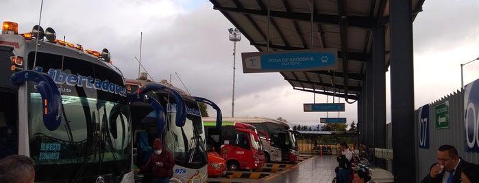 Terminal Satélite Del Norte is one of Idos Bogotá.