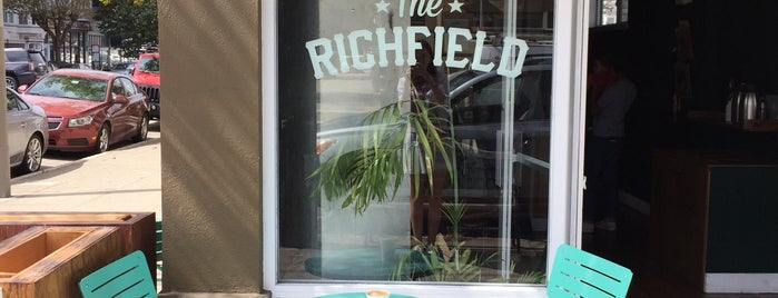 The Richfield is one of San Fran Coffee Shops.