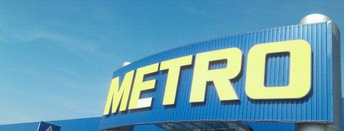 Metro Cash & Carry is one of Locais curtidos por Dragana.