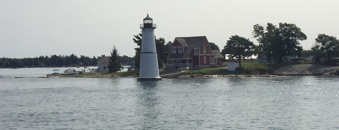 Rock Island Lighthouse is one of NYC-Toronto Road Trip.