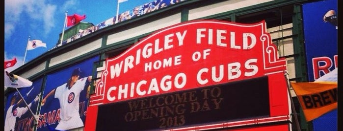 Wrigley Field is one of Chicago.