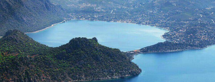 Vouliagmeni Lake is one of Greece.