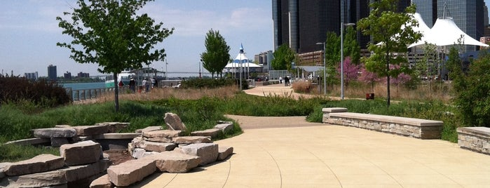 William G. Milliken State Park and Harbor is one of Detriot.