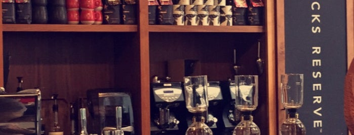 Starbucks Reserve is one of NYC.