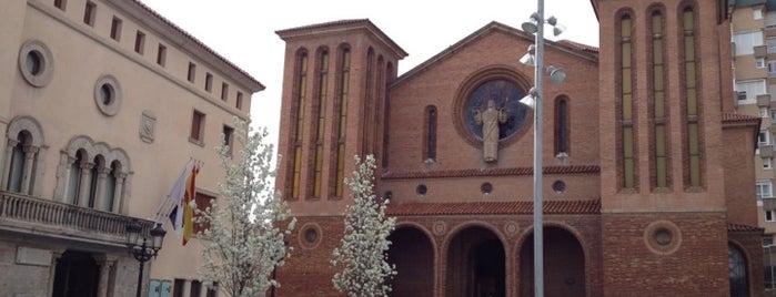 Plaça de l'Església is one of Places castelleres de nou.