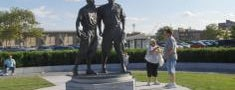 Jackie Robinson and Pee Wee Reese Monument is one of Must-See African American Historical Places In US.