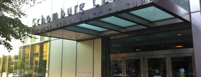NYPL Schomburg Center for Research in Black Culture is one of Must-See African American Historical Places In US.