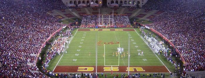 Los Angeles Memorial Coliseum is one of Experience Teams & Venues.