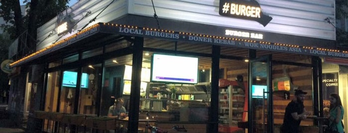#BURGER Bar is one of Lugares favoritos de Mikhail.
