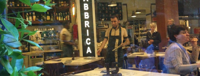 Pizzeria La Fabbrica is one of MILANO EAT & SHOP.