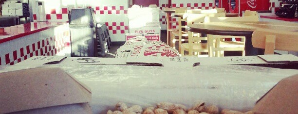 Five Guys is one of Food & Drink.