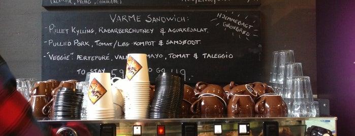 Sigfreds Kaffebar is one of Aarhus🇩🇰.
