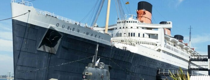 The Queen Mary is one of USA: Hotels.