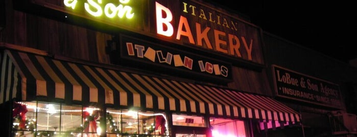 Patsy's and Son Bakery is one of Italian-American Spots.