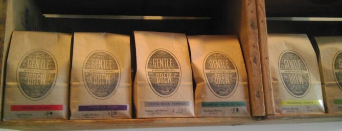 Gentle Brew Coffee Roasters is one of Startups & Spaces NYC + CA.