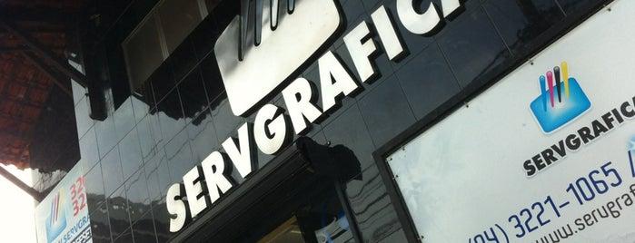 Servgráfica is one of Posti che sono piaciuti a Rafael.