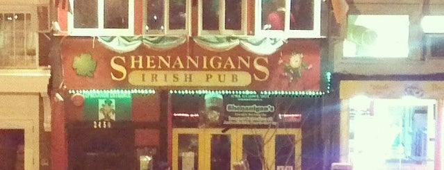 Shenanigan's Irish Pub is one of Adams Morgan and Mt. Pleasant.