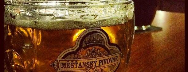 U Balbínů is one of Třetí pípa v Praze (pivnirecenze.cz).