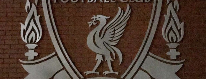 Anfield Stadium Club Guest Lounge is one of Lieux sauvegardés par Abdullah.
