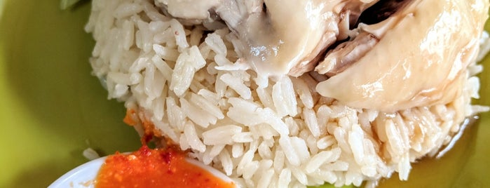 Tian Tian Hainanese Chicken Rice 天天海南鸡饭 is one of Singapore Eats.
